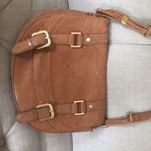 Rachel Zoe leather saddle bag